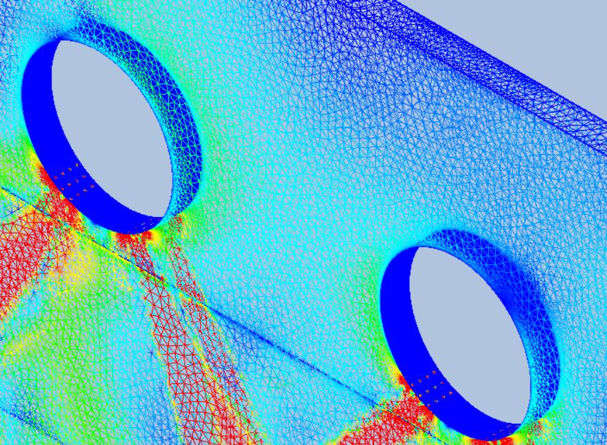 Figure 1: Vecteur température simulé