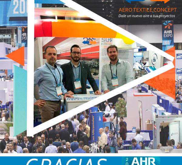 ATC presente en AHR Expo 2019, en Atlanta.