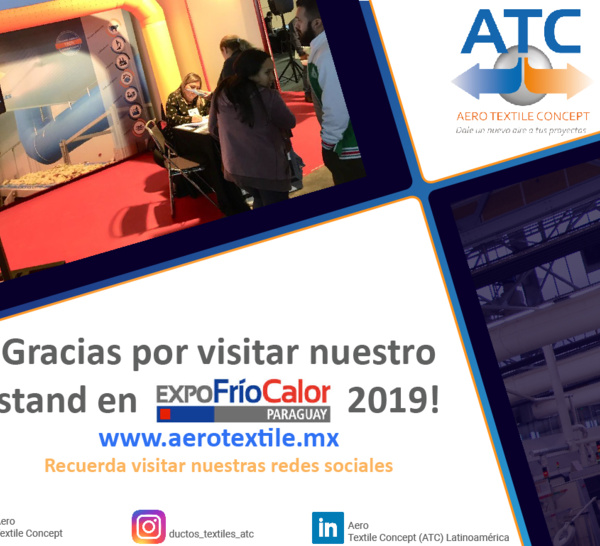 ATC presente en Expo Frío y Calor 2019, en Paraguay