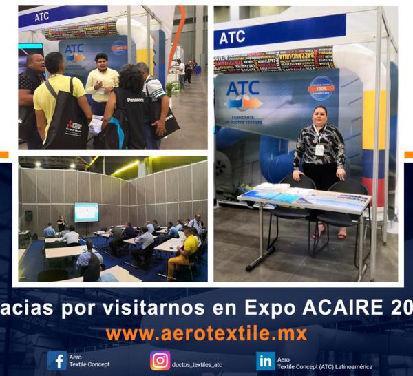 El equipo de ATC, presente en EXPO ACAIRE, BARRANQUILLA